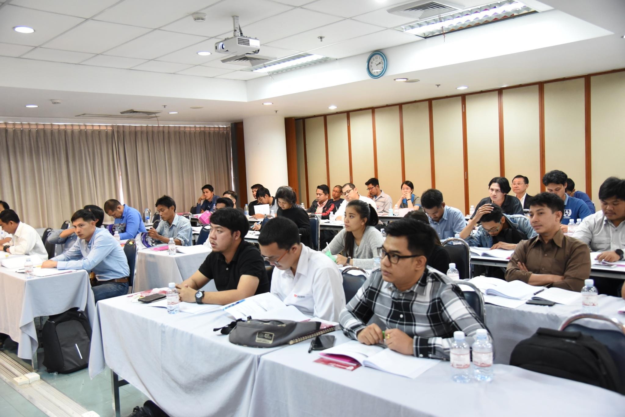 การอบรมเชิงปฏิบัติการเรื่อง การบริหารโครงการเชิงปฏิบัติ (Project Management in Practice)สำหรับในด้านธุรกิจก่อสร้างและด้านวิศวกรรม รุ่นที่ 23
