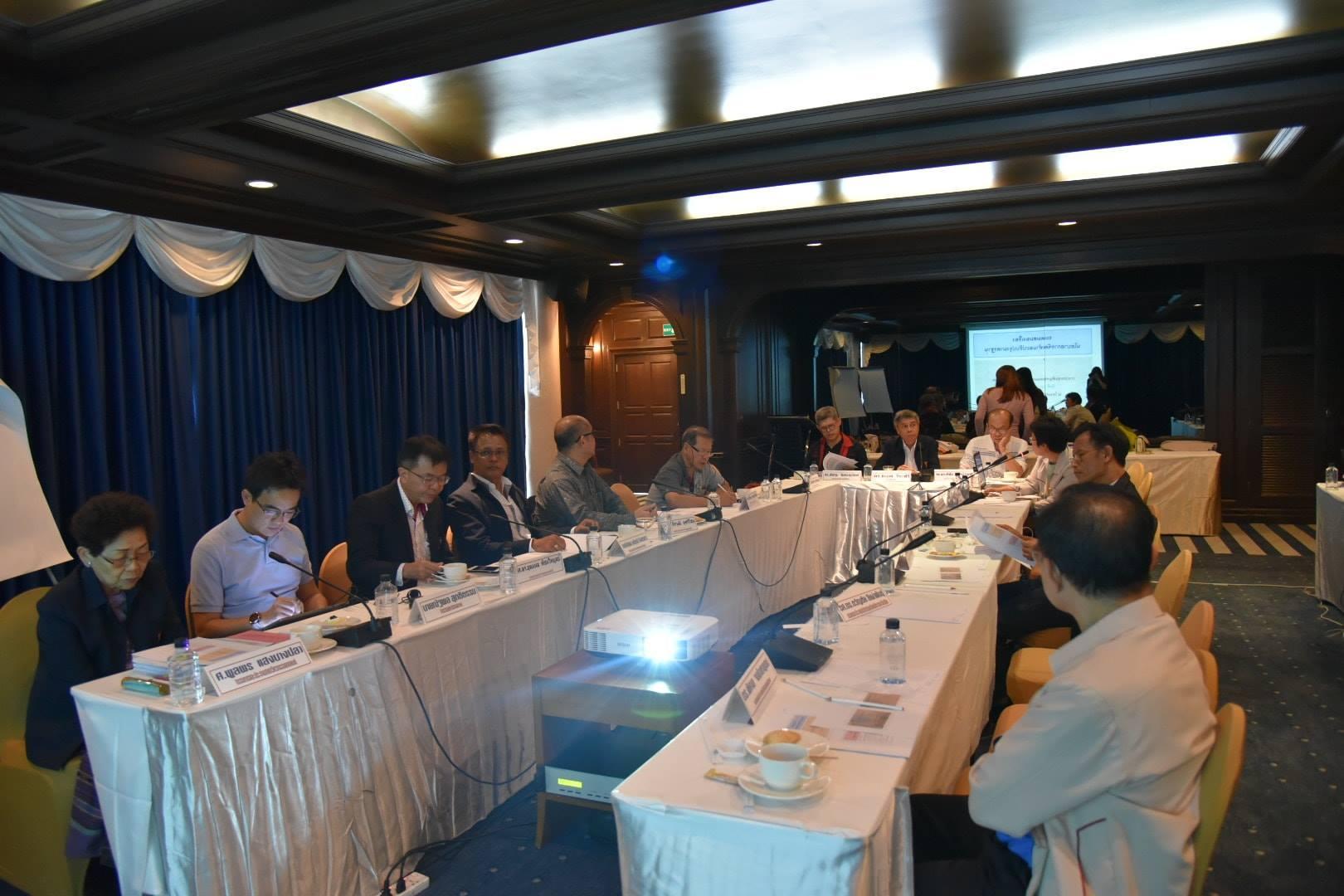 การประชุมระดมสมองเรื่องนโยบายมาตรฐานแห่งชาติ และการประชุมคณะกรรมการอำนวยการสัญจร วิศวกรรมสถานแห่งประเทศไทย ในพระบรมราชูปถัมภ์