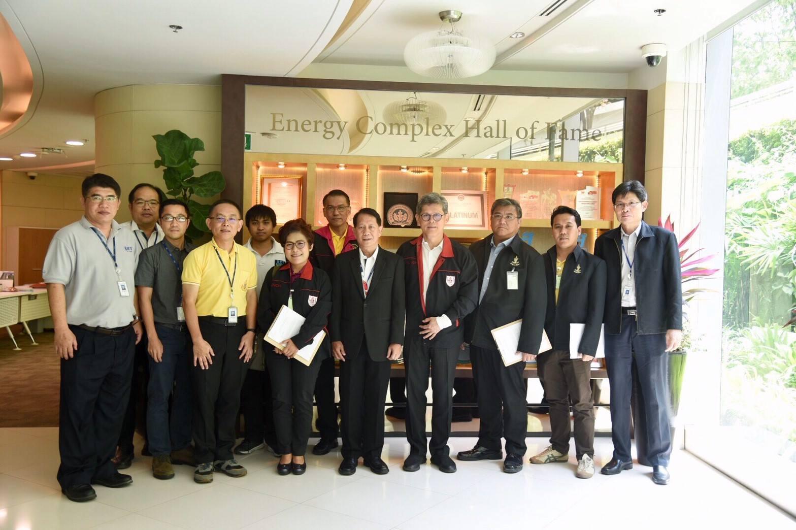 คณะกรรมการตรวจอาคารปลอดภัย โครงการ ASEAN Building Fire Safety Awards 2019 อาคารเอนเนอร์ยี่ คอมเพล็กซ์