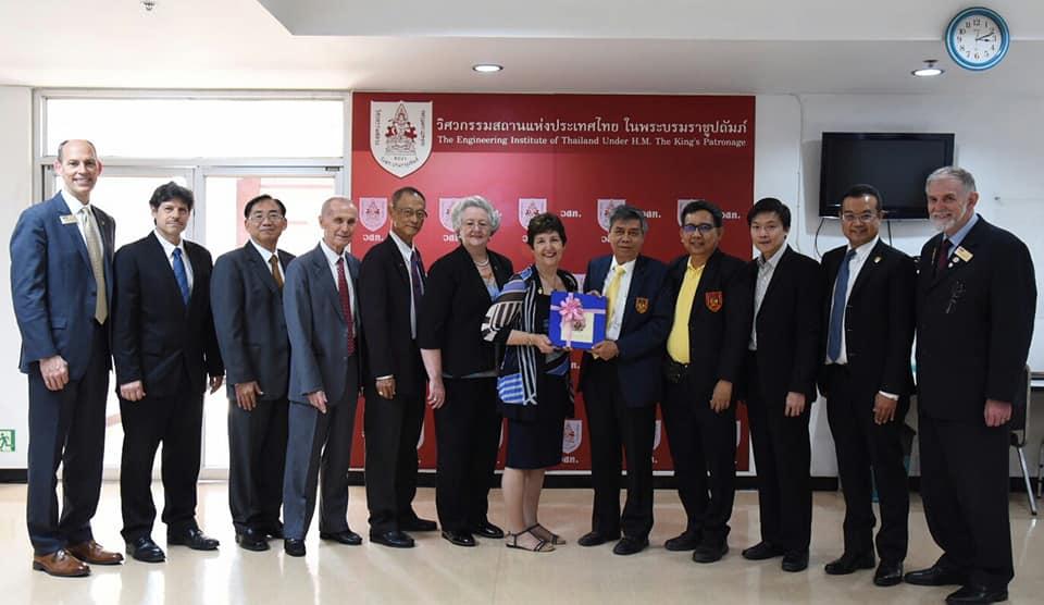 วิศวกรรมสถานแห่งประเทศไทยฯ ให้การต้อนรับ Robin Kemper, President ASCE และผู้แทน American Society Of Civil Engineers (ASCE) ในความร่วมมือด้านการจัดอบรมสัมมนาวิชาการต่าง ๆ