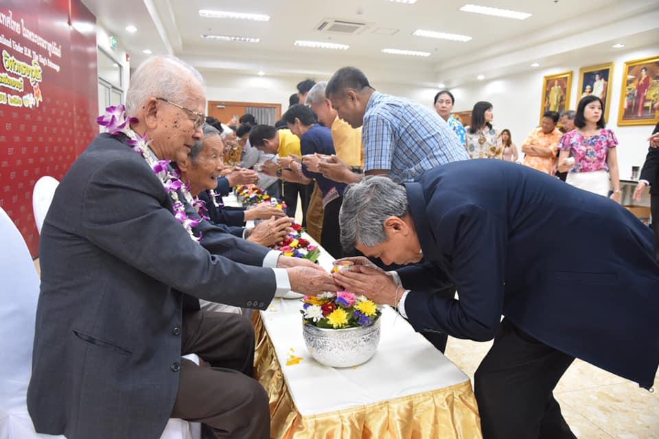 วิศวกรรมสถานแห่งประเทศไทยฯ จัดพิธี รดน้ำขอพรวิศวกรอาวุโส ในโอกาสเทศกาลสงกรานต์