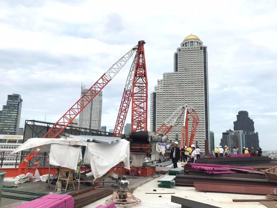 วิศวกรรมสถานแห่งประเทศไทยฯ (วสท.)   ร่วมกับกรมโยธาธิการและผังเมือง สปภ. และเขตบางรัก ลงพื้นที่ตรวจสอบ เครนหักเสียหาย ในขณะก่อสร้าง หล่นใส่อาคารโรงเรียนอัสสัมชัญคอนแวนต์
