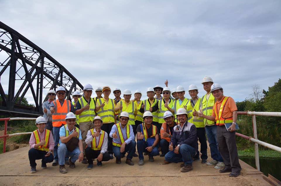 คณะกรรมการวิศวกรอาวุโส วสท. เข้าเยี่ยมชมและศึกษาดูงานการก่อสร้างรถไฟทางคู่สายใต้ ช่วงหัวหิน – ประจวบคีรีขันธ์