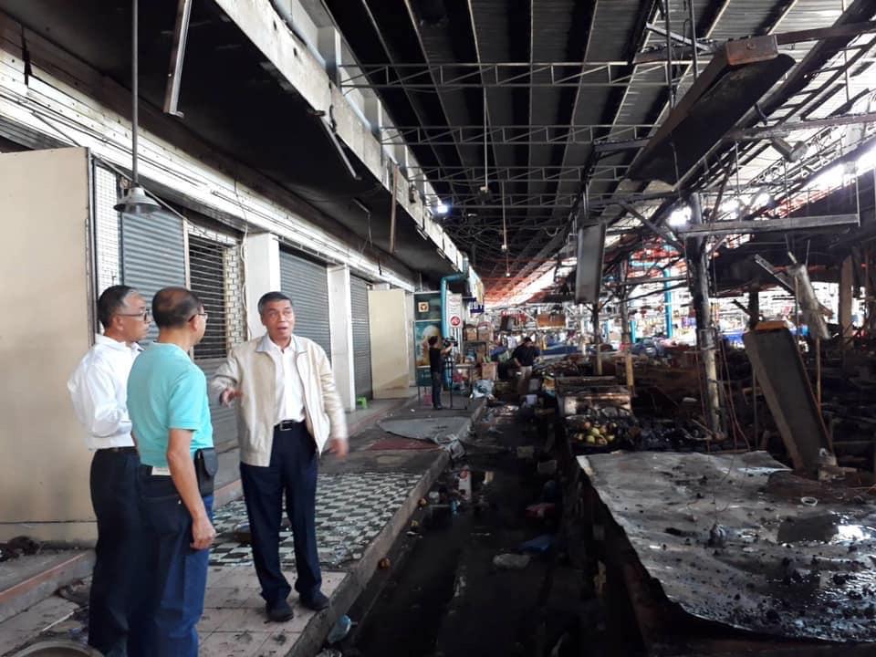 วิศวกรรมสถานแห่งประเทศไทย ร่วม มือกับสาขาภาคตะวันออกเฉียงเหนือ 2 ลงพื้นที่ ตรวจหาสาเหตุ การเกิดเพลิงไหม้ตลาดแม่กิมเฮง จ.นครราชสีมา
