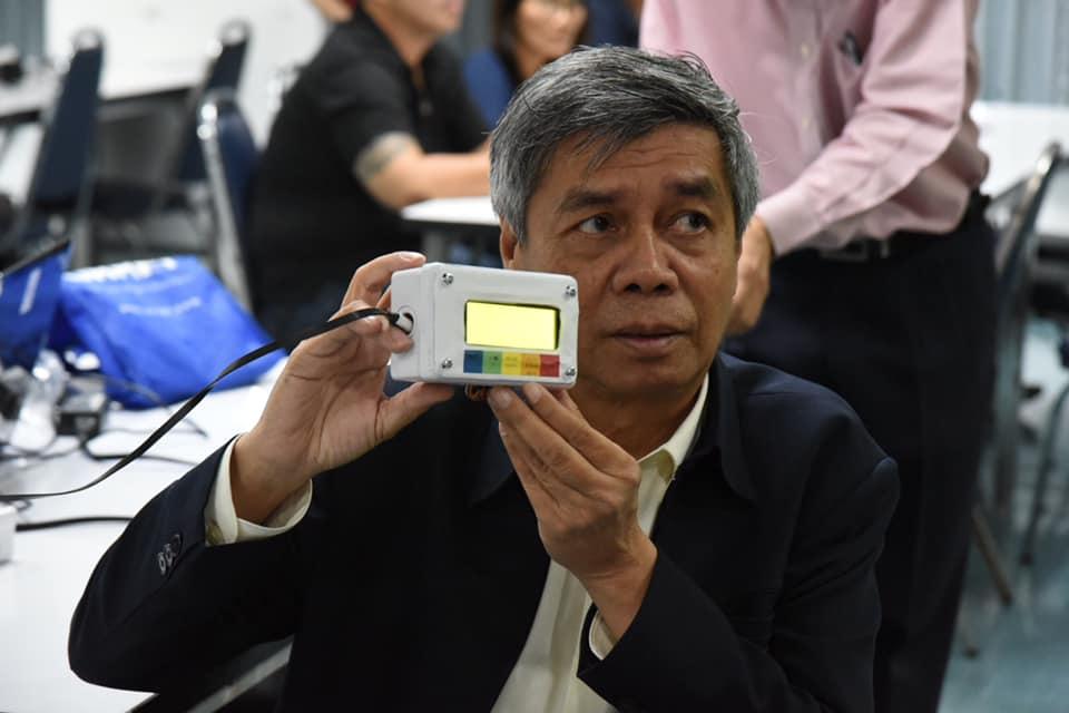 วิศวกรรมสถานแห่งประเทศไทยฯ จัดอบรมการประกอบเครื่องวัดค่าฝุ่น แก่ผู้สนใจ โดยสามารถวัดค่าฝุ่น PM 1.0 PM 2.5 PM 10 ความชื้น และอุณหภูมิ