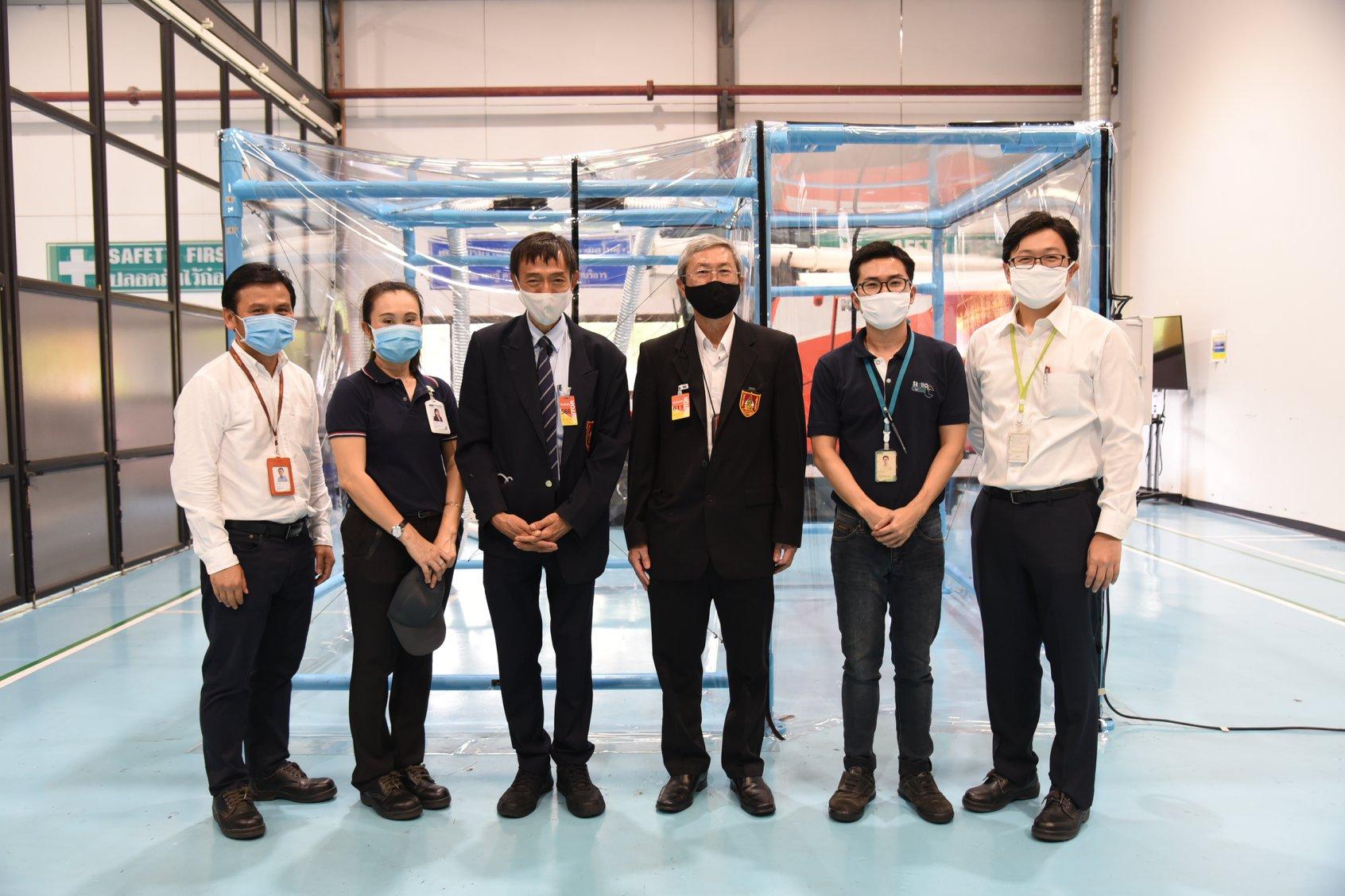บริษัท สยามคูโบต้าฯช่วยเหลือสังคมบรรเทาทุกข์ให้กับคนไทยด้วยการประกอบตู้ความดันลบแบบที่ 3 EIT-01-3/31032020 ตามรูปแบบ วสท. จำนวน 20 ตู้