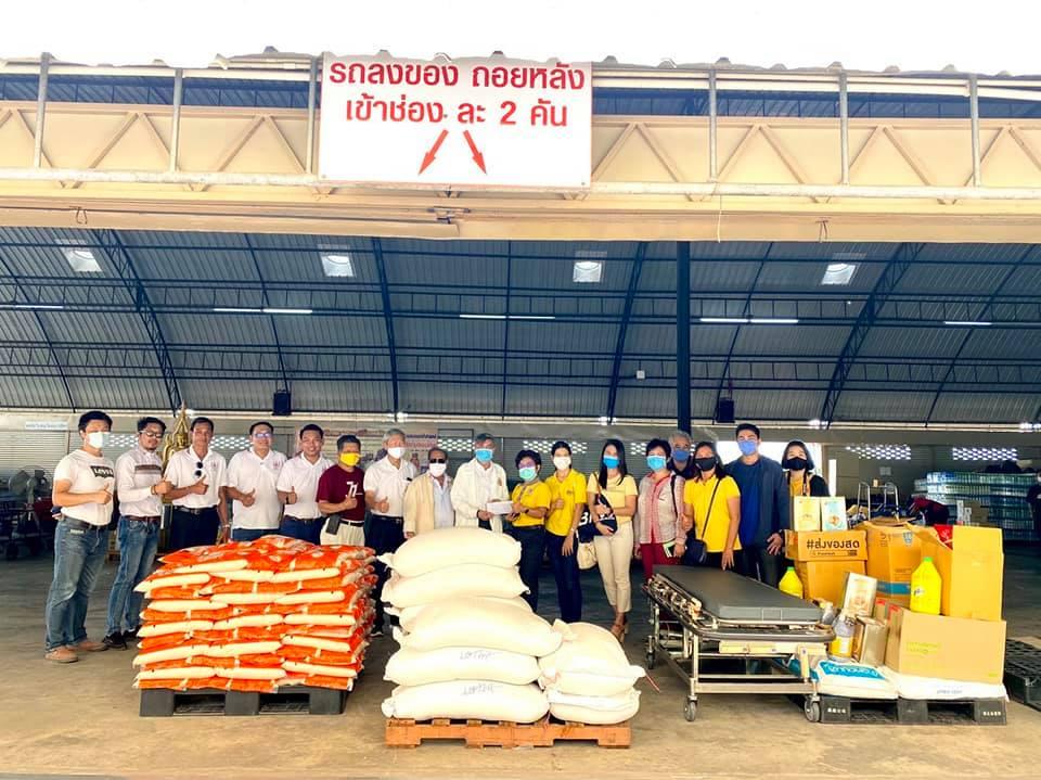 วิศวกรรมสถานแห่งประเทศไทย ในพระบรมราชูปถัมภ์  มอบเงินบริจาคและสิ่งของให้กับวัดพระบาทน้ำพุ ตำบลเขาสามยอด อำเภอเมือง จังหวัดลพบุรี