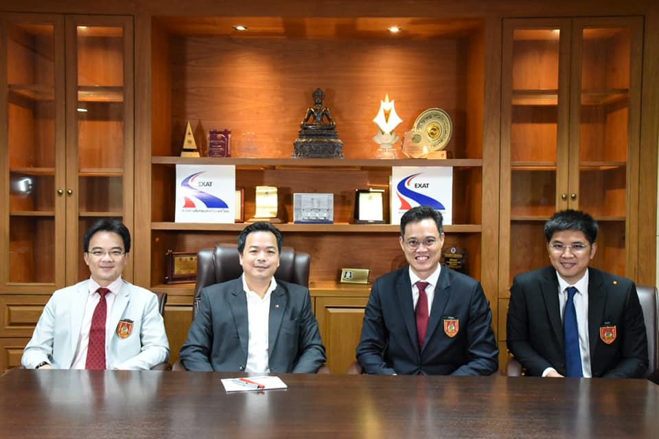 วิศวกรรมสถานแห่งประเทศไทยฯ เข้าพบเพื่อแสดงความยินดี กับนายสุรเชษฐ์ เหล่าพูลสุข ผู้ว่าการ การทางพิเศษแห่งประเทศไทย