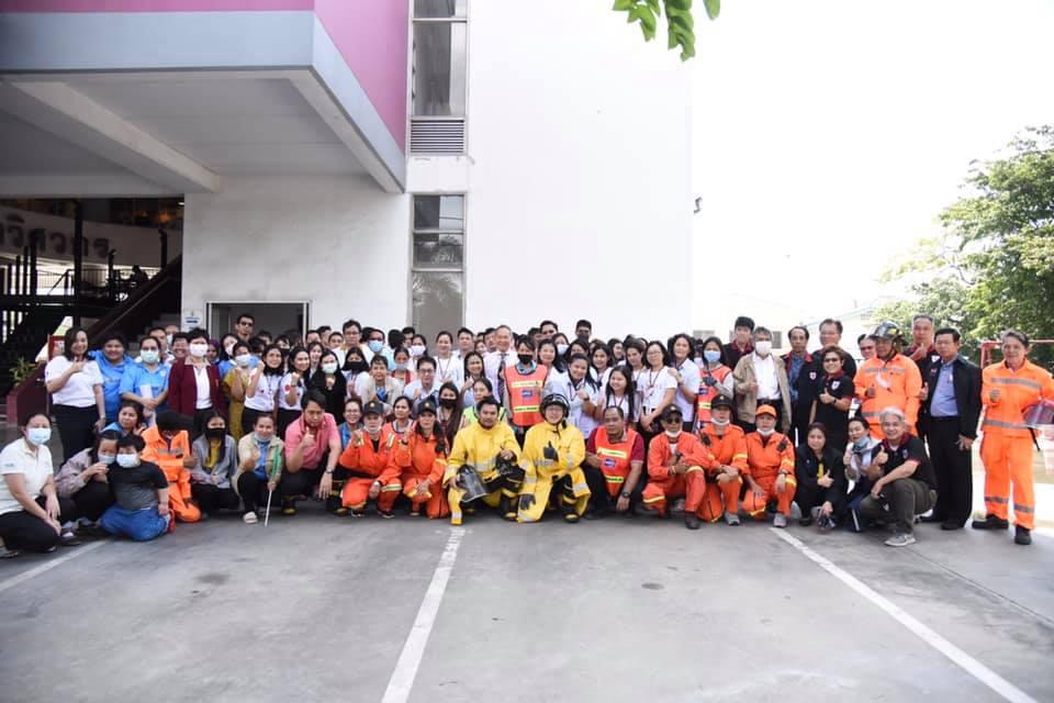 วิศวกรรมสถานแห่งประเทศไทยฯ (วสท.) จัดการซ้อมอพยพหนีไฟ ประจำปี 2563