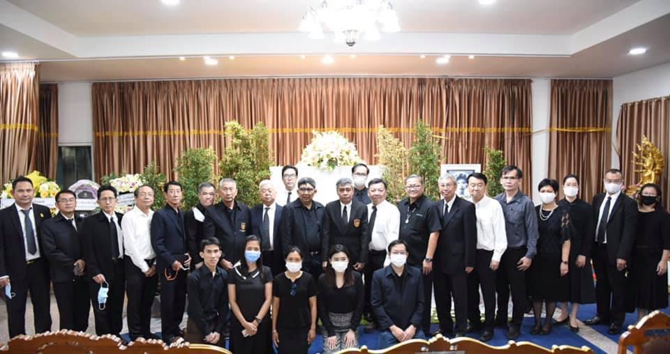 """วิศวกรรมสถานแห่งประเทศไทย ในพระบรมราชูปถัมภ์ (วสท.) เป็นเจ้าภาพสวดพระอภิธรรมศพ """"นางอัมพร วุฒิพฤกษ์"""" มารดา ศ.ดร.พานิช วุฒิพฤกษ์"""