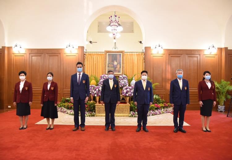 คณะกรรมการอำนวยการ วิศวกรรมสถานแห่งประเทศไทยฯ ร่วมลงนามถวายพระพรสมเด็จพระกนิษฐาธิราชเจ้า กรมสมเด็จพระเทพรัตนฯ