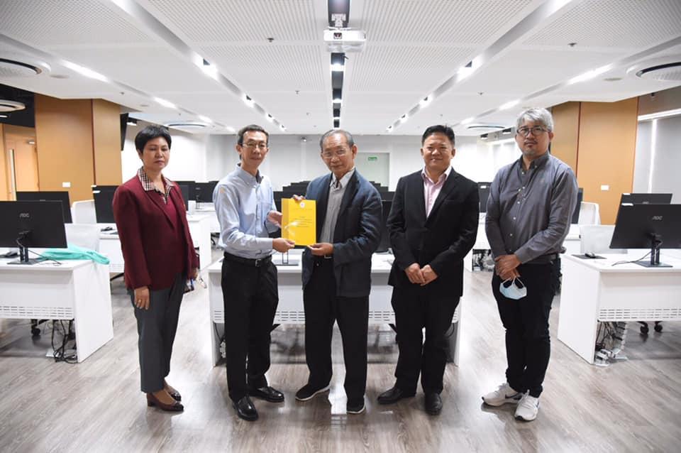 คุณธวัช บัณฑิตอนุกูล Country Manager Datech Solutions (Thailand) มาเยี่ยมชม ศูนย์ BIM LAB และฟังบรรยายในเรื่องแผนการดำเนินงานพร้อมหารือความร่วมมือในการจัดอบรมระบบ BIM โปรแกรมของ AUTODESK ร่วมกันกับสถาบัน BIM แห่งประเทศไทย