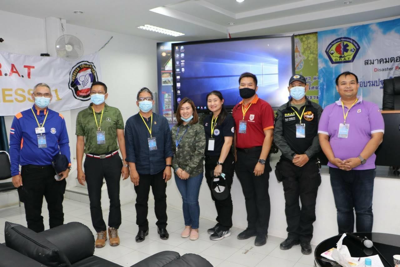"""วิศวกรรมสถานแห่งประเทศไทยฯ สาขาภาคตะวันตก เข้าร่วมกับหน่วยงานต่างๆในโครงการ """"ONENESS THAILAND TEAM"""""""