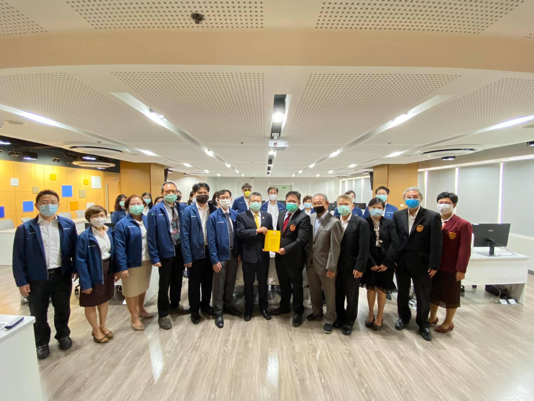 วิศวกรรมสถานแห่งประเทศไทยฯ (วสท.) ให้การต้อนรับ นายธนะ อัลภาชน์ รองเลขาธิการสำนักงานมาตรฐานผลิตภัณฑ์อุตสาหกรรม (สมอ.) นายเอกนิติ รมยานนท์ ผู้อำนวยการสำนักงานคณะกรรมการการมาตรฐานแห่งชาติ พร้อมด้วยคณะ