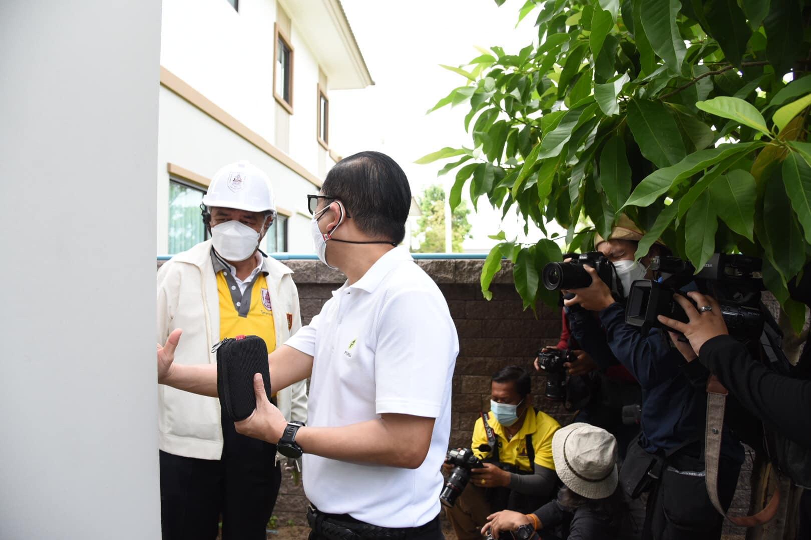 วิศวกรรมสถานแห่งประเทศไทย ในพระบรมราชูปถัมภ์ (วสท.) นำวิศวกรอาสา เพื่อลงพื้นที่ตรวจสอบความเสียหายของอาคารที่ได้รับผลกระทบจากเหตุการณ์เพลิงไหม้ และแรงระเบิด ที่จังหวัดสมุทรปราการ 2
