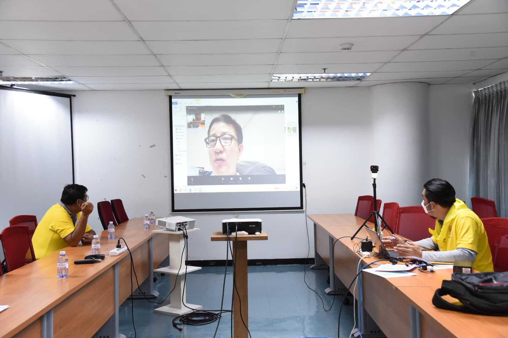 วิศวกรอาสา วิศวกรรมสถานแห่งประเทศไทยฯ ให้คำปรึกษา พร้อมเสนอแนะแนวทางแก้ไขเบื้องต้นแก่ประชาชนที่ได้รับผลกระทบจากเหตุการณ์เพลิงไหม้ และระเบิดโรงงานย่านกิ่งแก้ว จังหวัดสมุทรปราการ ผ่านระบบออนไลน์